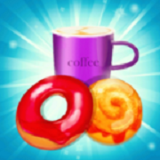 咖啡甜甜圈爆炸